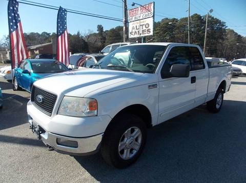 2004 Ford F-150 for sale at Deer Park Auto Sales Corp in Newport News VA