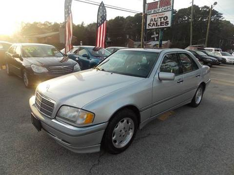 2000 Mercedes-Benz C-Class for sale at Deer Park Auto Sales Corp in Newport News VA
