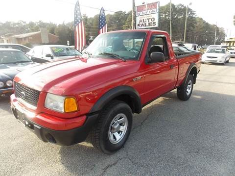 2003 Ford Ranger for sale at Deer Park Auto Sales Corp in Newport News VA
