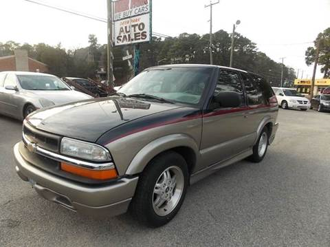 2002 Chevrolet Blazer for sale at Deer Park Auto Sales Corp in Newport News VA