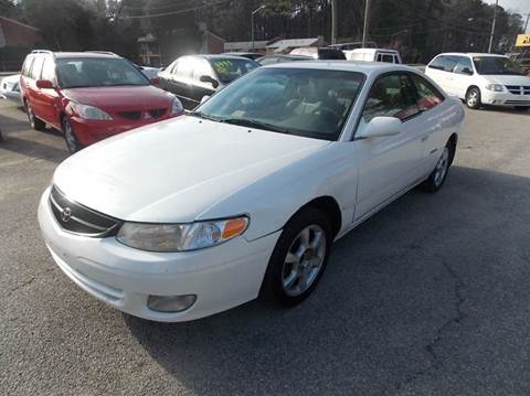 1999 Toyota Camry Solara for sale at Deer Park Auto Sales Corp in Newport News VA