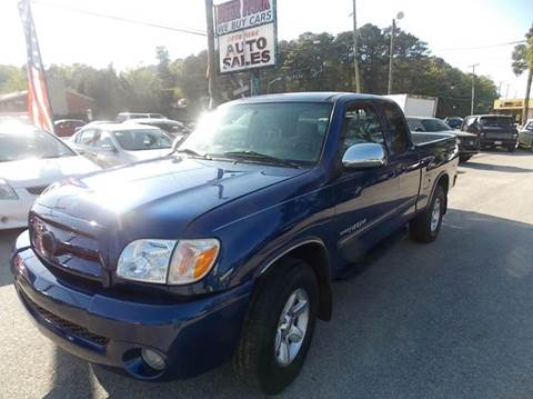 2005 Toyota Tundra for sale at Deer Park Auto Sales Corp in Newport News VA