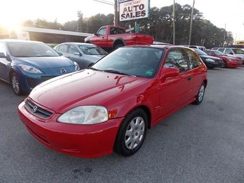 1999 Honda Civic for sale at Deer Park Auto Sales Corp in Newport News VA