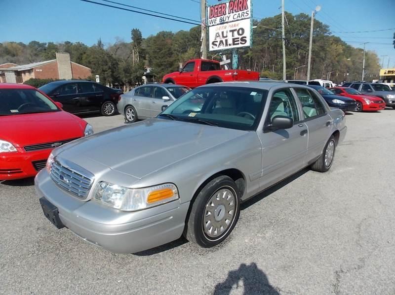 Ford Crown Victoria Base Dr Sedan In Newport News VA Deer - 2004 crown victoria