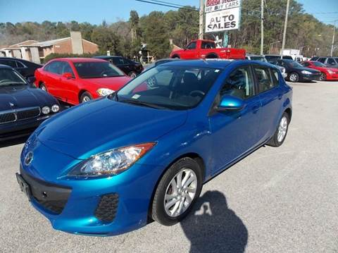 2012 Mazda MAZDA3 for sale at Deer Park Auto Sales Corp in Newport News VA