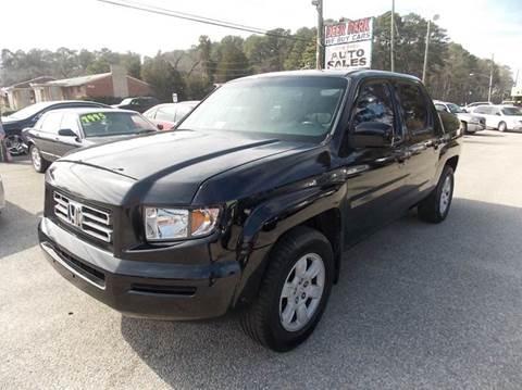2006 Honda Ridgeline for sale at Deer Park Auto Sales Corp in Newport News VA