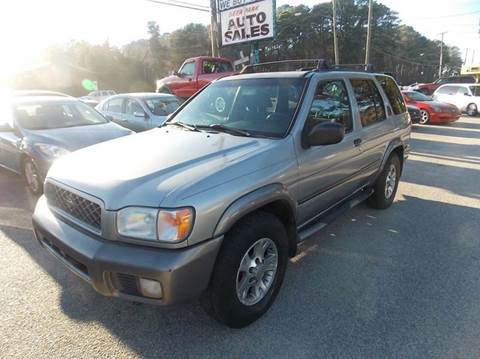 2001 Nissan Pathfinder for sale at Deer Park Auto Sales Corp in Newport News VA
