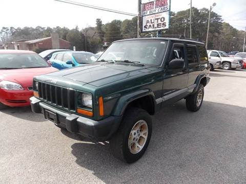 2001 Jeep Cherokee for sale at Deer Park Auto Sales Corp in Newport News VA
