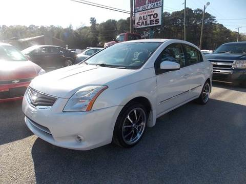 2010 Nissan Sentra for sale at Deer Park Auto Sales Corp in Newport News VA