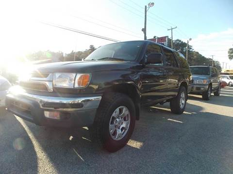 2001 Toyota 4Runner for sale at Deer Park Auto Sales Corp in Newport News VA