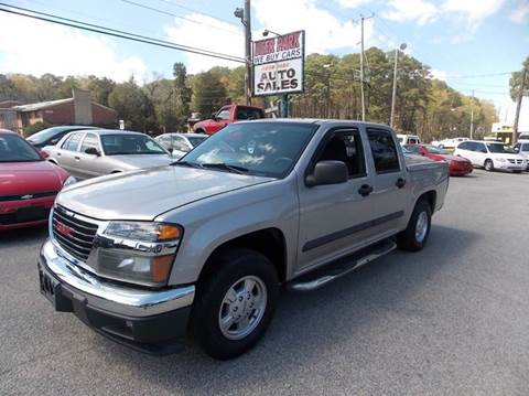 2008 GMC Canyon for sale at Deer Park Auto Sales Corp in Newport News VA