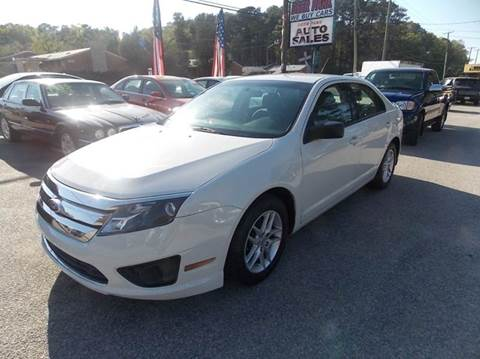 2012 Ford Fusion for sale at Deer Park Auto Sales Corp in Newport News VA