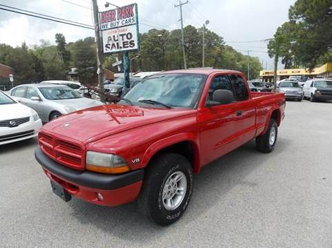1997 Dodge Dakota for sale at Deer Park Auto Sales Corp in Newport News VA