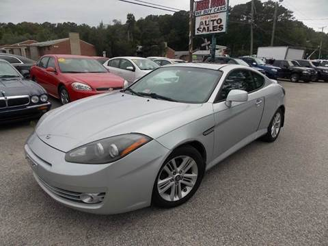 2007 Hyundai Tiburon for sale at Deer Park Auto Sales Corp in Newport News VA