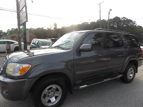 2005 Toyota Sequoia for sale at Deer Park Auto Sales Corp in Newport News VA