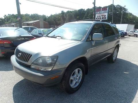 2000 Lexus RX 300 for sale at Deer Park Auto Sales Corp in Newport News VA