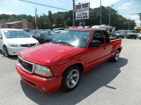 2002 GMC Sonoma for sale at Deer Park Auto Sales Corp in Newport News VA