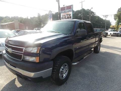 2006 Chevrolet Silverado 2500HD for sale at Deer Park Auto Sales Corp in Newport News VA