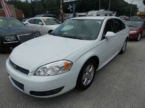 2011 Chevrolet Impala for sale at Deer Park Auto Sales Corp in Newport News VA