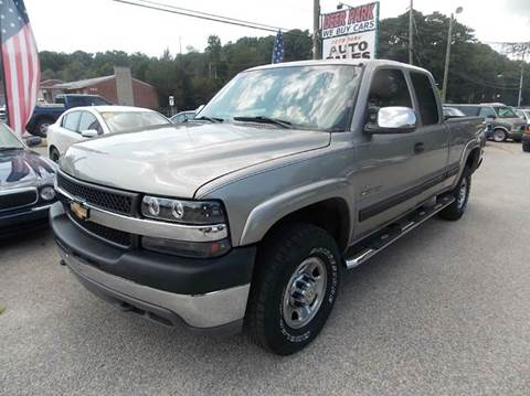 2001 Chevrolet Silverado 2500HD for sale at Deer Park Auto Sales Corp in Newport News VA