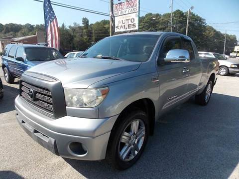 2007 Toyota Tundra for sale at Deer Park Auto Sales Corp in Newport News VA