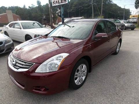2010 Nissan Altima for sale at Deer Park Auto Sales Corp in Newport News VA