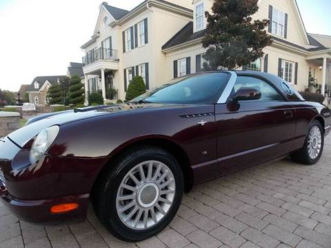 2004 Ford Thunderbird for sale at Deer Park Auto Sales Corp in Newport News VA
