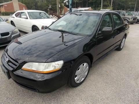 2002 Honda Accord for sale at Deer Park Auto Sales Corp in Newport News VA