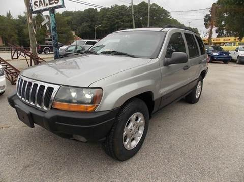 2000 Jeep Grand Cherokee for sale at Deer Park Auto Sales Corp in Newport News VA