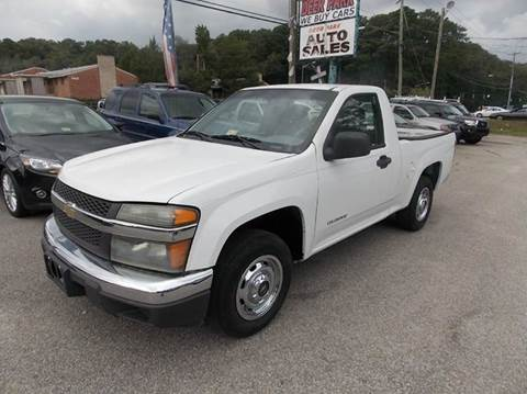 2005 Chevrolet Colorado for sale at Deer Park Auto Sales Corp in Newport News VA