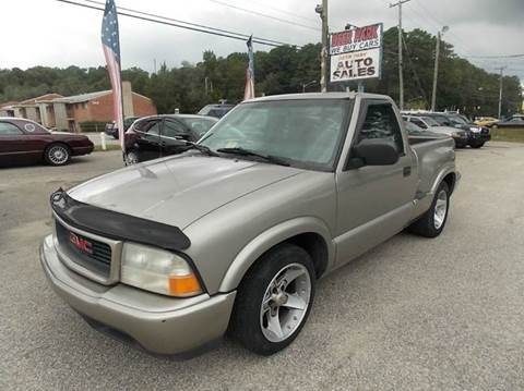 2001 GMC Sonoma for sale at Deer Park Auto Sales Corp in Newport News VA