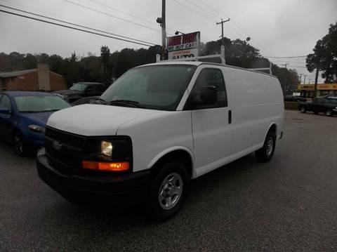 2008 Chevrolet Express Cargo for sale at Deer Park Auto Sales Corp in Newport News VA