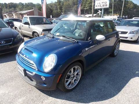 2003 MINI Cooper for sale at Deer Park Auto Sales Corp in Newport News VA