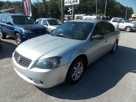 2006 Nissan Altima for sale at Deer Park Auto Sales Corp in Newport News VA