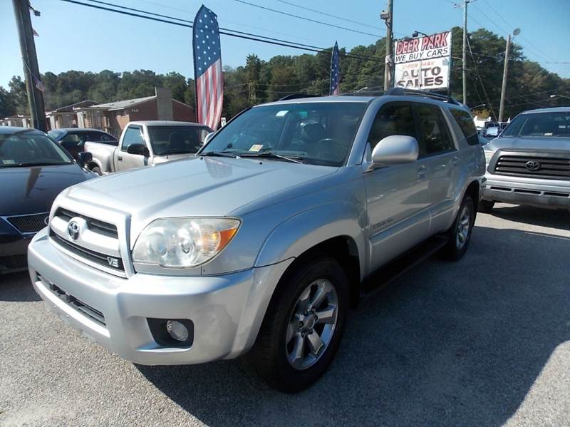 2007 Toyota 4runner Limited 4dr Suv 4wd V8 In Newport News Va Deer