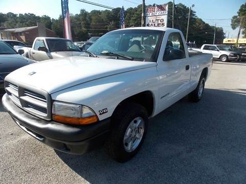 1999 Dodge Dakota for sale at Deer Park Auto Sales Corp in Newport News VA