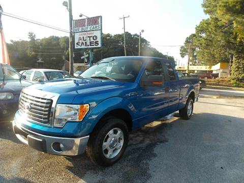 2010 Ford F-150 for sale at Deer Park Auto Sales Corp in Newport News VA