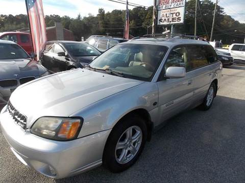 2004 Subaru Outback for sale at Deer Park Auto Sales Corp in Newport News VA