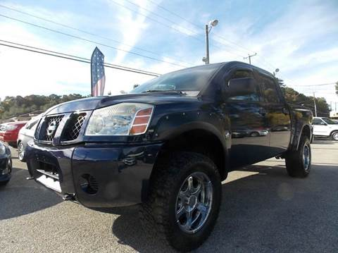 2007 Nissan Titan for sale at Deer Park Auto Sales Corp in Newport News VA