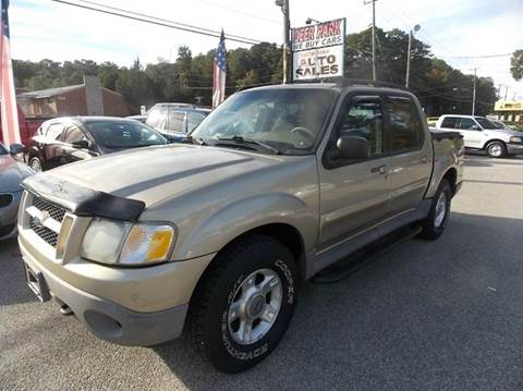 2001 Ford Explorer Sport Trac for sale at Deer Park Auto Sales Corp in Newport News VA
