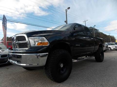 2009 Dodge Ram Pickup 1500 for sale at Deer Park Auto Sales Corp in Newport News VA
