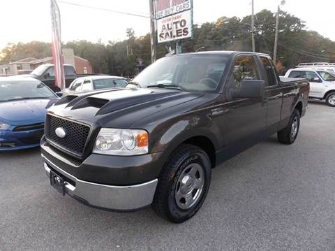 2006 Ford F-150 for sale at Deer Park Auto Sales Corp in Newport News VA