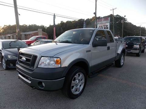2008 Ford F-150 for sale at Deer Park Auto Sales Corp in Newport News VA
