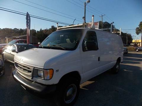 2001 Ford E-Series Cargo for sale at Deer Park Auto Sales Corp in Newport News VA