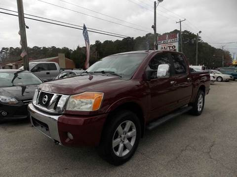 2008 Nissan Titan for sale at Deer Park Auto Sales Corp in Newport News VA