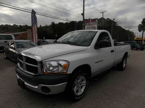2006 Dodge Ram Pickup 1500 for sale at Deer Park Auto Sales Corp in Newport News VA