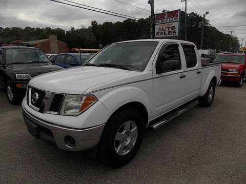 2008 Nissan Frontier for sale at Deer Park Auto Sales Corp in Newport News VA