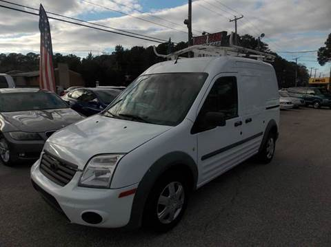 2011 Ford Transit Connect for sale at Deer Park Auto Sales Corp in Newport News VA