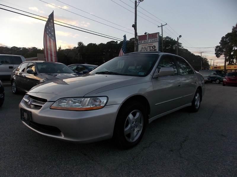1999 honda accord coupe v6