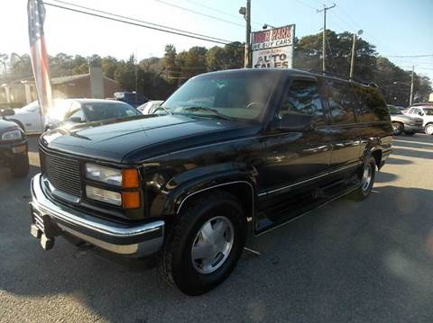 1995 GMC Suburban for sale at Deer Park Auto Sales Corp in Newport News VA